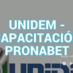 UNIDEM CAPACITACIÓN PRONABET