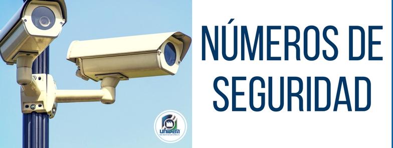 UNIDEM - Números de seguridad