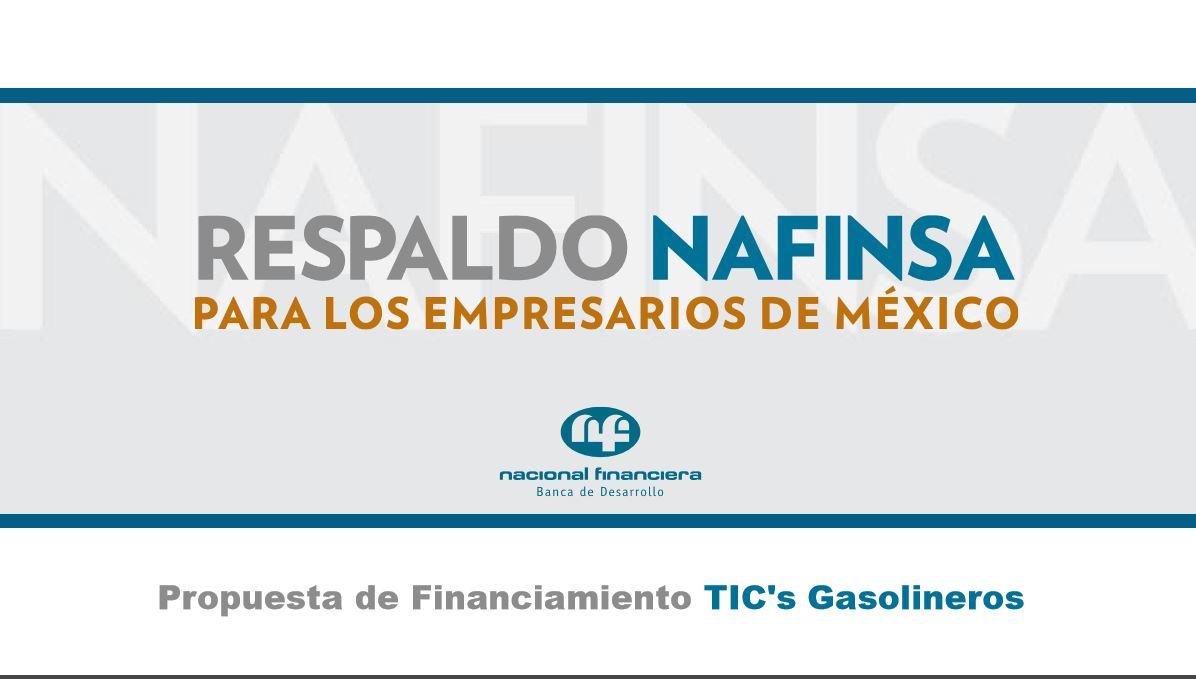Propuesta de Financiamiento TICs Gasolineros Portada