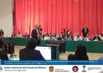 UNIDEM - Reunio con el Maestro Alejandro Gomez Sánchez