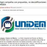 Urgen campañas con propuestas, no descalificaciones: UNIDEM