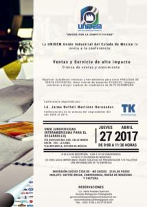 RUEDA DE NETWORKING Y CONFERENCIA: VENTAS Y SERVICIO DE ALTO IMPACTO @ UNID - Universidad Interamericana para el Desarrollo