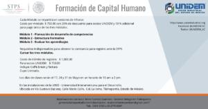 Formación de Capital Humano @ UNID - Universidad Interamericana para el Desarrollo