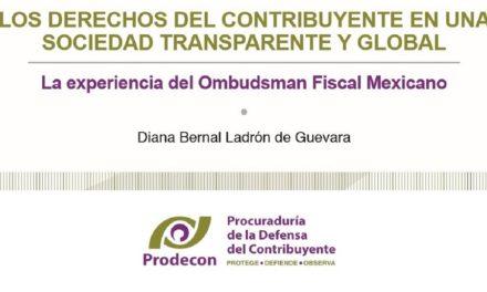 LOS DERECHOS DEL CONTRIBUYENTE EN UNA SOCIEDAD TRANSPARENTE Y GLOBAL