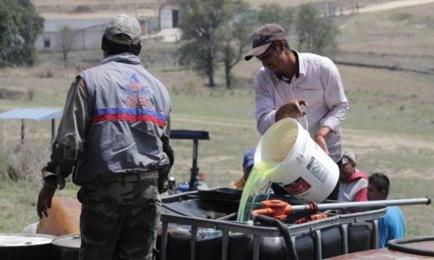 Empresarios exigen en Edomex freno al robo de combustible
