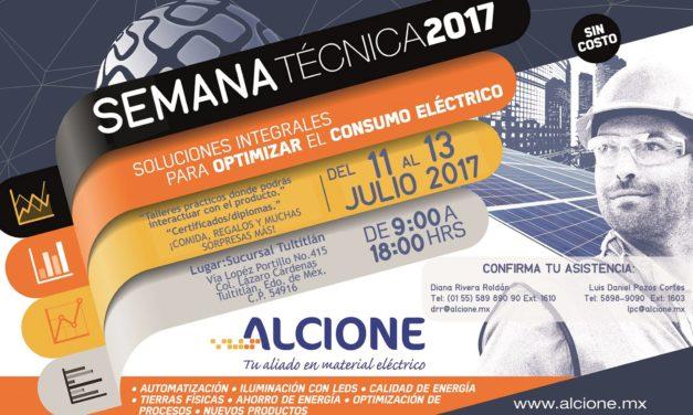 ALCIONE: SEMANA TÉCNICA 2017 – Soluciones integrales para optimizar el consumo eléctrico (Tultitlán)