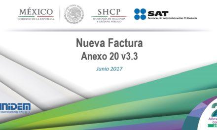 Curso: Nuevo esquema de Facturación Electrónica y complemento de pagos versión 3.3