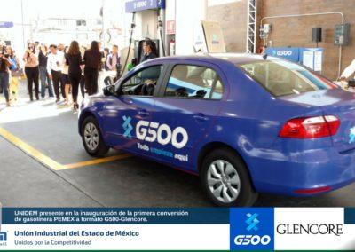 UNIDEM presente en la inauguración de la primera conversión de gasolinera PEMEX a formato G500 - Glencore