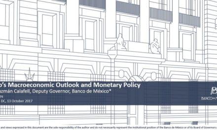 Presentacione de la Junta de Gobierno, subgobernador el Lic. Javier Guzmán Calafell – Banco de México