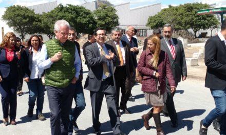 Reunión entre la Mesa Directiva de la Unión Industrial del Estado de México UNIDEM y el Secretario del Medio Ambiente del GEM Ing. Jorge Rescala Pérez; FÁBRICA DE JABÓN LA CORONA sede de la reunió.
