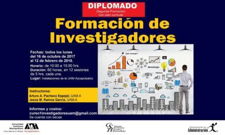 Diplomado en Formación de Investigadores – UAM Azcapotzalco