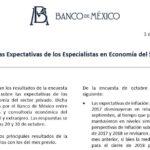 Encuesta sobre las Expectativas de los Especialistas en Economía del Sector Privado Noviembre de 2017