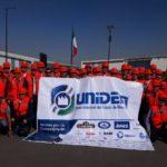 Visita de integrantes de la UNIDEM a las obras de construcción del Nuevo Aeropuerto MX