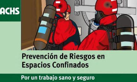 ACHS Prevención de Riesgos en Espacios Confinados