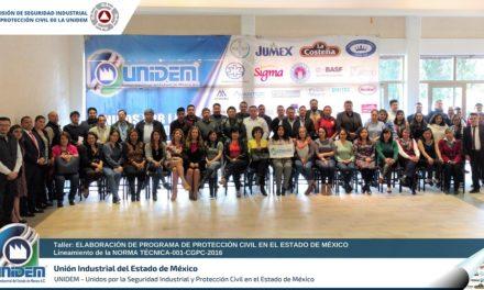 Taller para Elaboración de Programa de Protección Civil en el Estado de México