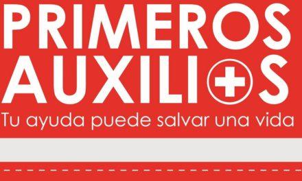 Trípticos de Primeros Auxilios – Tu ayuda puede Salvar una vida, Comisión de Seguridad Industrial y Protección Civil