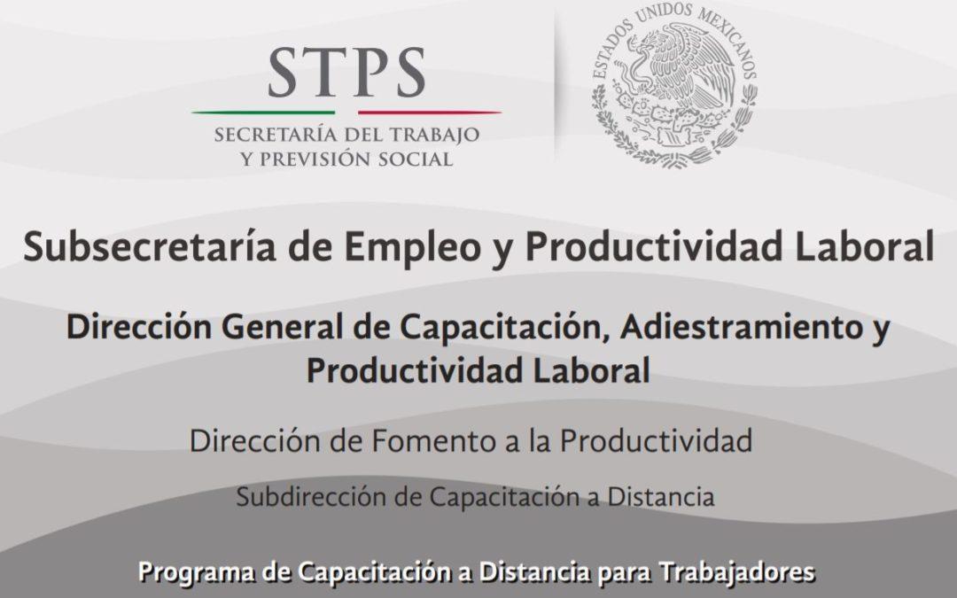 PROCADIST – PROGRAMA DE CAPACITACIÓN A DISTANCIA PARA TRABAJADORES.