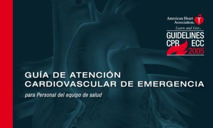 GUÍA DE ATENCIÓN CARDIOVASCULAR DE EMERGENCIA