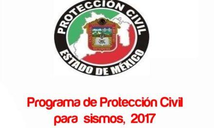 Programa de Protección Civil para Sismos 2017, (Descargas de información valiosa en PDF).