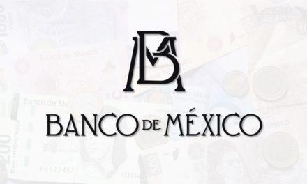 Banco de México publicó el Informe Trimestral Enero – Marzo 2018