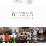 Sexto Informe de Labores de la Secretaría de Trabajo y Previsión Social 2017 – 2018