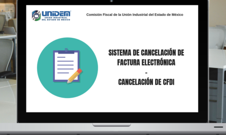 Sistema de Cancelación de Factura Electrónica –  CANCELACIÓN DE CFDI