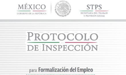 Protocolo de Inspección para la Formalización del Empleo