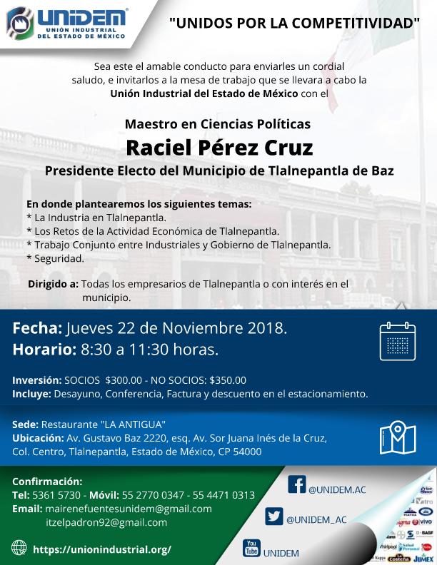 UNIDEM - Mesa de trabajo con presidente electo de Tlalnepantla 002