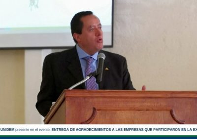 UNIDEM presente en el evento: ENTREGA DE AGRADECIMIENTOS A LAS EMPRESAS QUE PARTICIPARON EN LA EXPO TALENTO 2018.