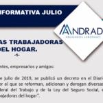 Reforman, adicionan y derogan diversas disposiciones de la Ley en materia de PERSONAS TRABAJADORAS DEL HOGAR