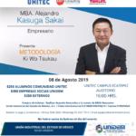 MAGNA CONFERENCIA impartida por MBA Alejandro Kasuga Sakai (Yakult)