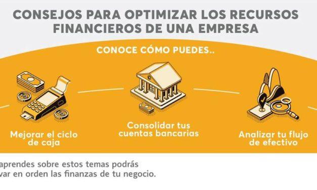 Consejo para optimizar los recursos financieros de una empresa.
