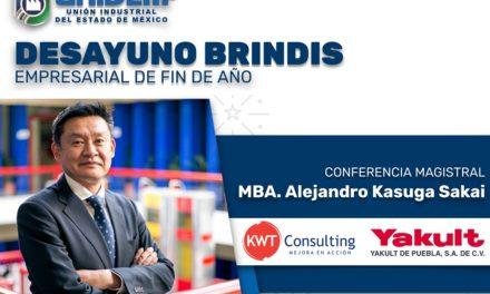 UNIDEM – DESAYUNO BRINDIS EMPRESARIAL DE FIN DE AÑO / Conferencia Magistral: MBA. Alejandro Kasuga Sakai