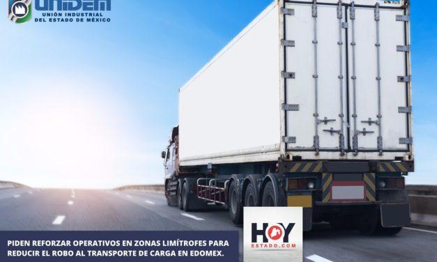 PIDEN REFORZAR OPERATIVOS EN ZONAS LIMÍTROFES PARA REDUCIR EL ROBO AL TRANSPORTE DE CARGA EN EDOMEX.