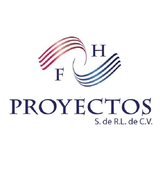 FH PROYECTOS Logo – Socio UNIDEM