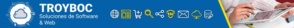 TROYBOC Soluciones de Software y Web - Consultoria Digital