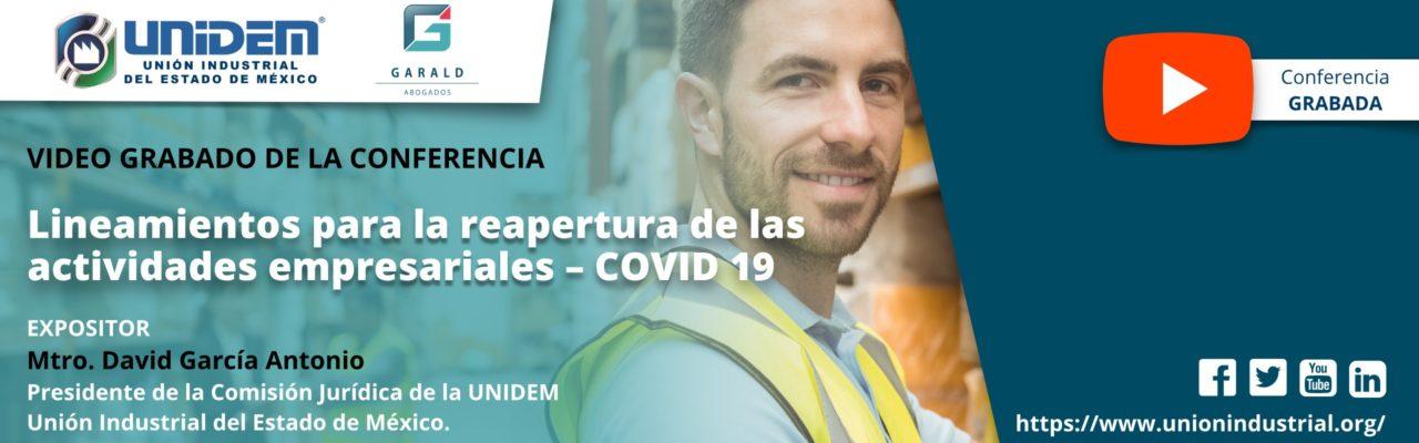 2020 05 22 - Lineamientos para la reapertura de las actividades empresariales COVID 19 - YouTube Barra