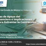 Conferencia virtual: ✅ EXPECTATIVAS DE APOYO DEL SISTEMA FINANCIERO E IMPLICACIONES FISCALES, PARA ENFRENTAR LA CONTRACCIÓN ECONÓMICA.