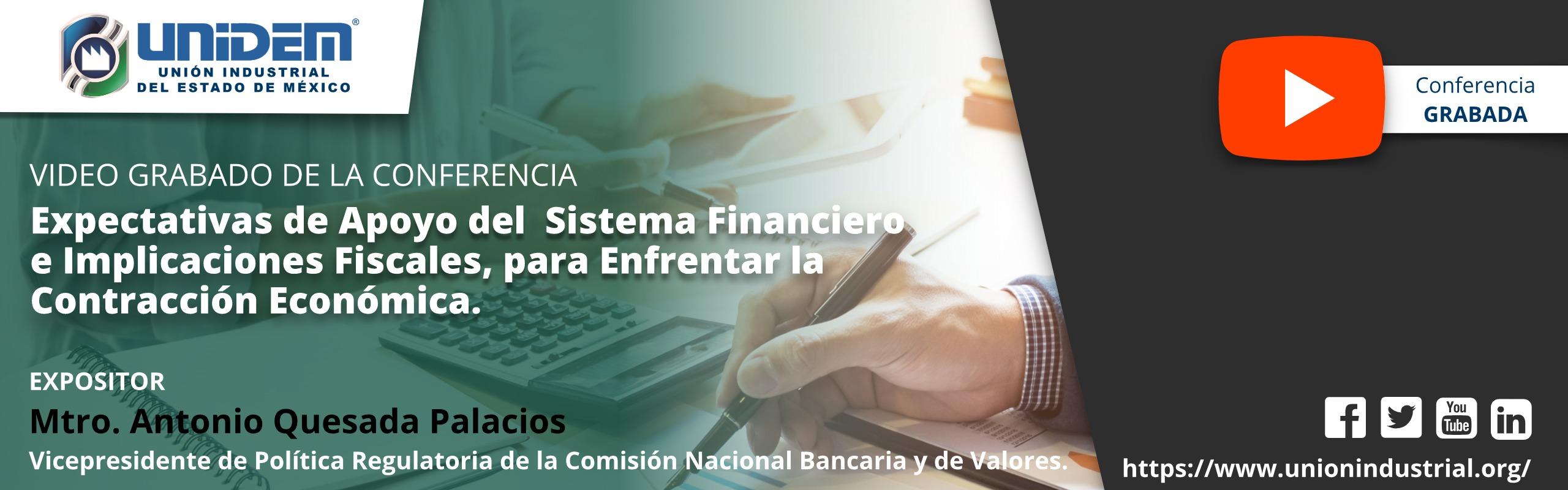 2020 05 27 - 2020 05 27 - Expectativas de Apoyo del Sistema Financiero YouTube Barra