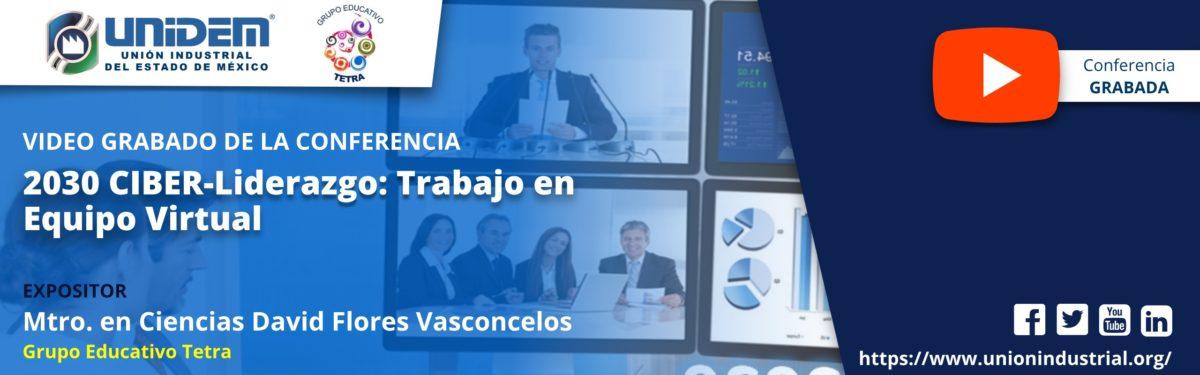 2020 05 29 - 2030 CIBER – Liderazgo Trabajo en equipo virtual YouTube Barra