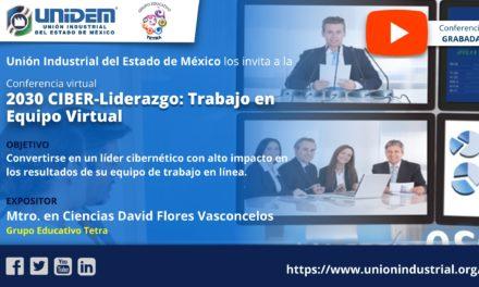(Evento grabado) Conferencia virtual – 2030 CIBER-LIDERAZGO: TRABAJO EN EQUIPO VIRTUAL.