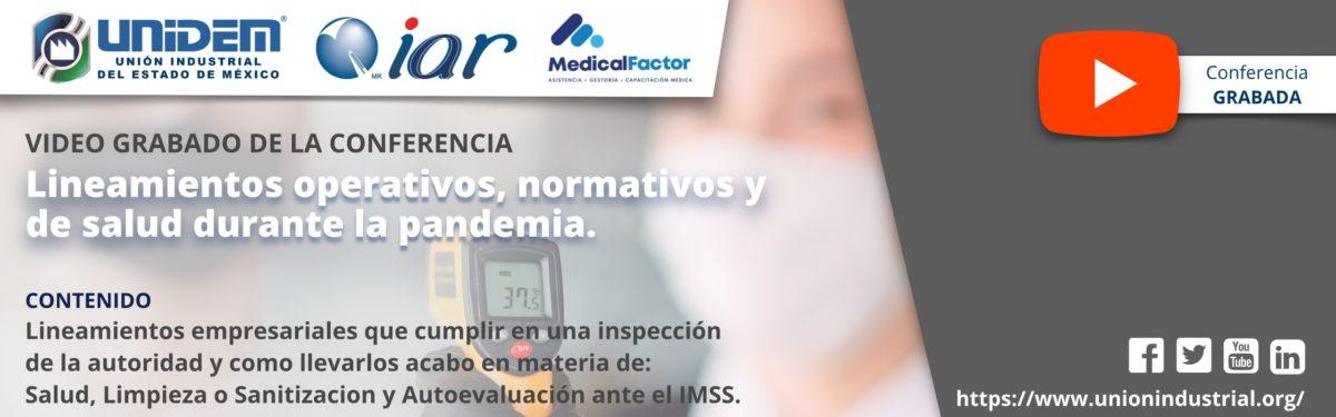 2020 06 10 - Lineamientos Operativos Normativos y de Salud YouTube Barra