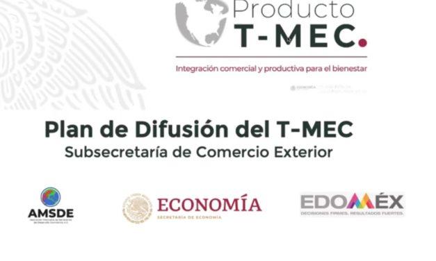 (Evento Grabado) RELEVANCIA DEL T-MEC Y LAS OPORTUNIDADES QUE BRINDA AL DESARROLLO DEL ESTADO DE MÉXICO.