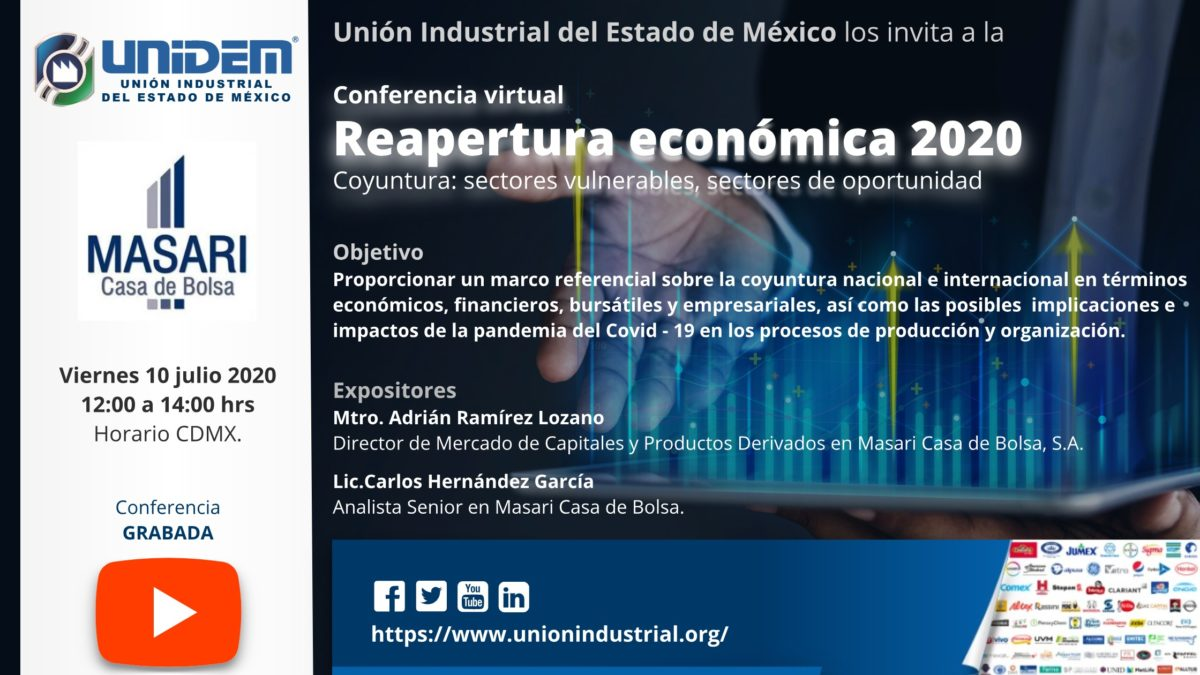 2020 07 10 - Reapertura economica 2020 Flyer YouTube