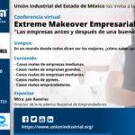"""Conferencia virtual:  EXTREME MAKEOVER EMPRESARIAL. """"LAS EMPRESAS ANTES Y DESPUÉS DE UNA BUENA CONSULTORÍA"""""""