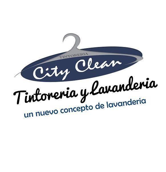 Logo Tintoreria y lavanderia City Clean