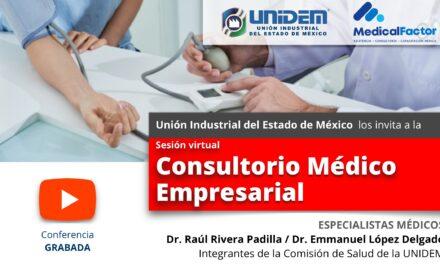 (Evento Grabado) COVID 19 Y LA HIPERTENSIÓN ARTERIAL EL ASESINO SILENCIOSO / Sesión virtual: Consultorio Médico Empresarial