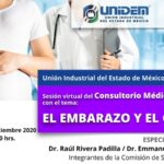 Sesión virtual Consultorio Médico Empresarial -TEMA: EL EMBARAZO Y COVID-19.