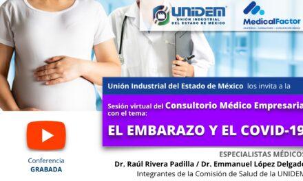 (Evento Grabado) Sesión virtual Consultorio Médico Empresarial -TEMA: EL EMBARAZO Y COVID-19.
