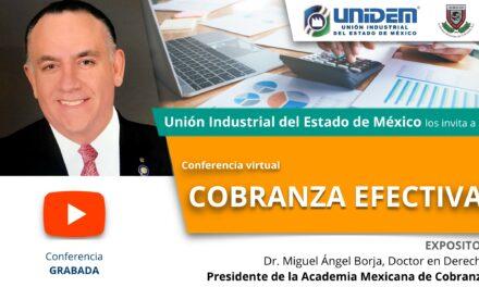 (Evento Grabado) Conferencia en línea: COBRANZA EFECTIVA.